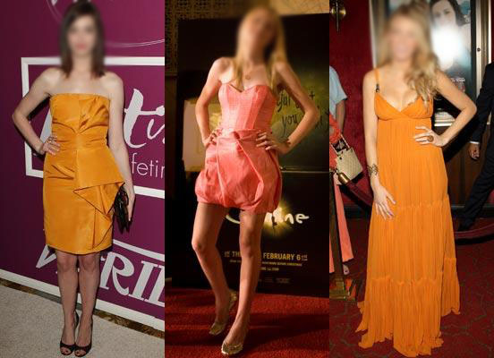 Resultado de imagem para roupa laranja reveillon
