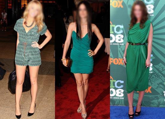 Resultado de imagem para roupa verde reveillon
